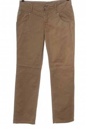 Closed Pantalon en jersey brun style décontracté