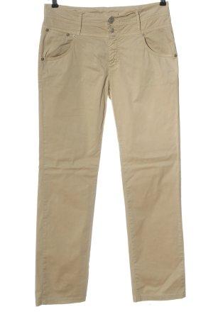Closed Pantalon en jersey blanc cassé style décontracté