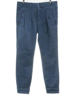 Closed Pantalon en jersey bleu acier style décontracté