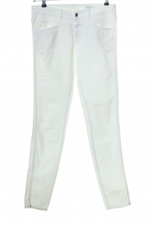 Closed Straight-Leg Jeans weiß Casual-Look