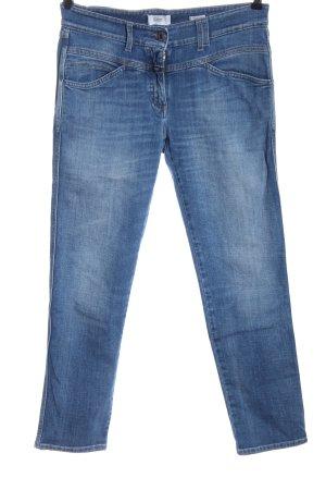 Closed Jeansy z prostymi nogawkami niebieski W stylu casual