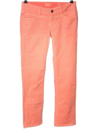 Closed Jeansy z prostymi nogawkami czerwony W stylu casual