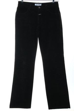 Closed Straight-Leg Jeans schwarz schlichter Stil