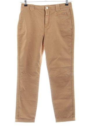 Closed Straight-Leg Jeans braun Casual-Look