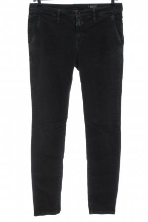 Closed Straight-Leg Jeans schwarz Casual-Look