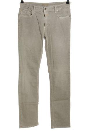 Closed Jeans coupe-droite gris clair style décontracté