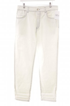 Closed Straight-Leg Jeans mehrfarbig Logo-Applikation