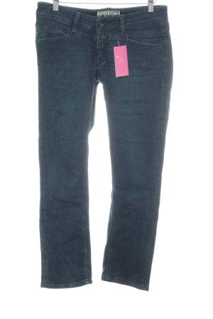 Closed Straight-Leg Jeans petrol Casual-Look