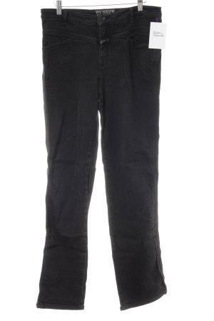 Closed Jeans met rechte pijpen zwart casual uitstraling
