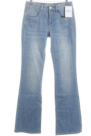 Closed Jeans coupe-droite bleu acier Aspect de jeans