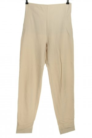 Closed Stretch Trousers natural white business style