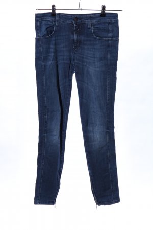 Closed Stretchhose blau Casual-Look