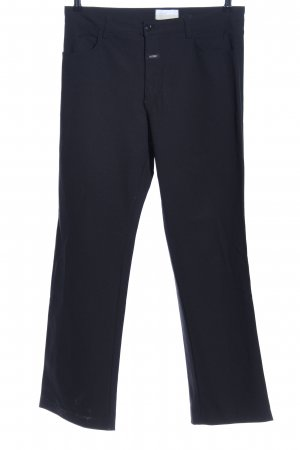 Closed Stretch Trousers black business style