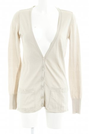 Closed Strick Cardigan beige Casual-Look