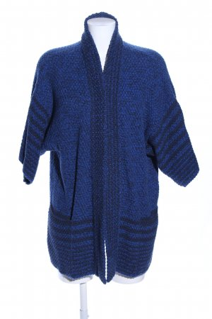 Closed Strick Cardigan blau-schwarz Allover-Druck Casual-Look