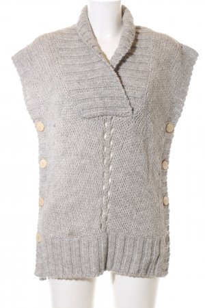 Closed Strickjacke hellgrau Casual-Look