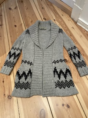 Closed Strickjacke Norweger Grau Gr. XS