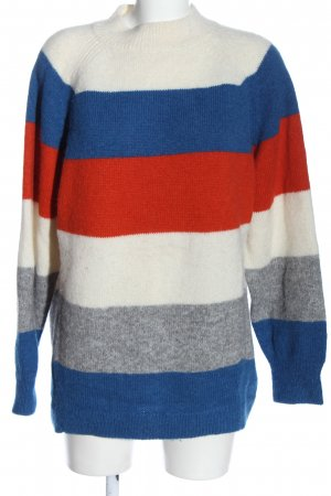 Closed Strickpullover Allover-Druck Casual-Look