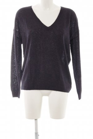 Closed Strickpullover lila Casual-Look