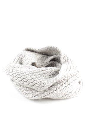 Closed Écharpe en tricot gris clair style décontracté