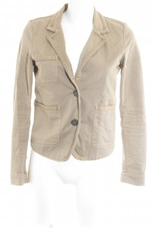 Closed Sweatblazer camel Casual-Look