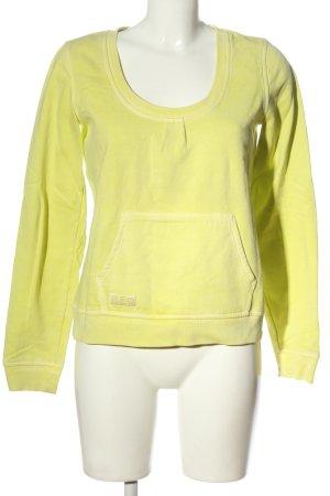 Closed Sweatshirt blassgelb Casual-Look
