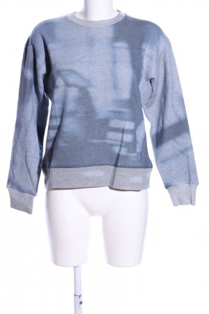 Closed Sweatshirt blau-hellgrau Farbverlauf Casual-Look