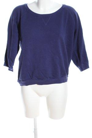 Closed Sweatshirt blau Casual-Look