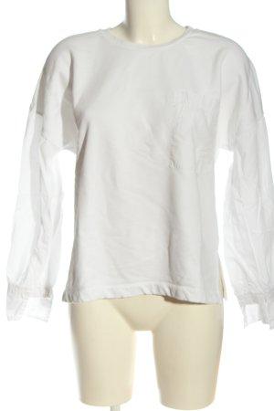 Closed Sweatshirt weiß Casual-Look