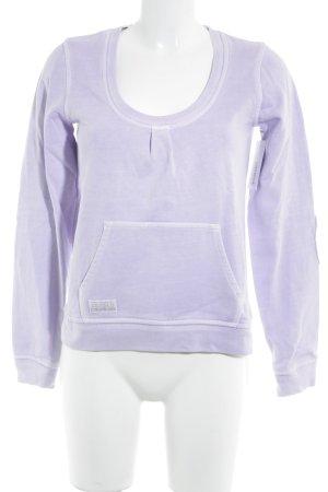 Closed Sweatshirt helllila Washed-Optik