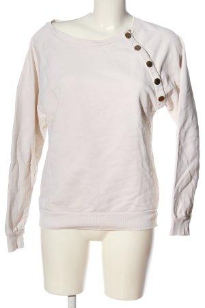 Closed Sweatshirt blanc cassé coton