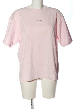 Closed T-shirt różowy Wydrukowane logo W stylu casual