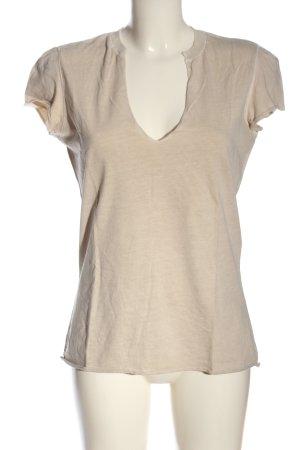 Closed Camiseta crema look casual