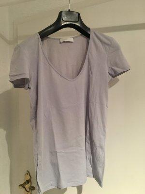Closed T-Shirt mit V-Ausschnitt in Flieder