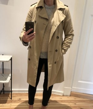 Closed Trench Coat beige cotton