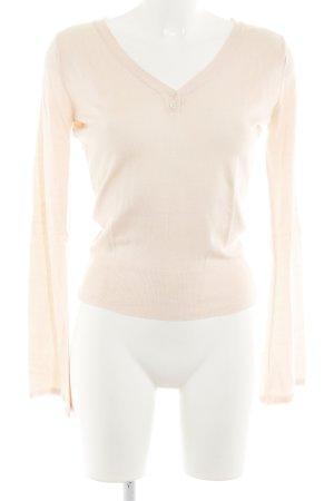 Closed V-Ausschnitt-Pullover nude Casual-Look