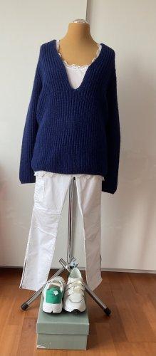 Closed Jersey holgados azul lana de alpaca