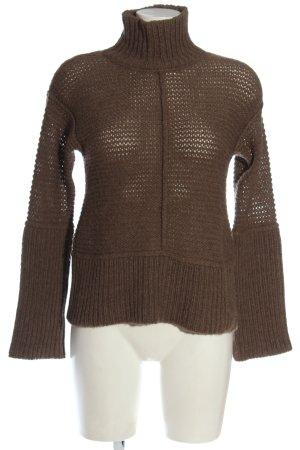 Closed Pull en laine brun style décontracté