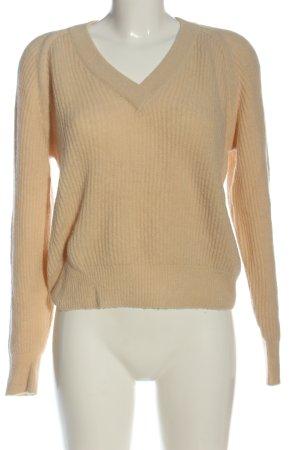 Closed Maglione di lana giallo pallido stile casual