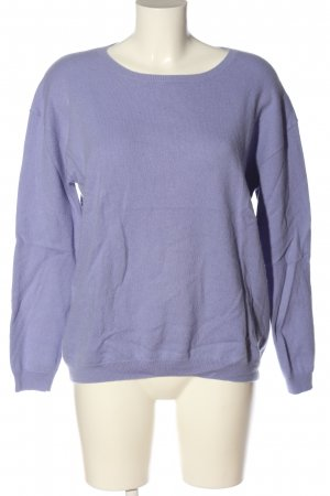 Closed Wollpullover lila Casual-Look