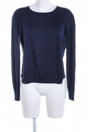 Closed Wollpullover blau Business-Look