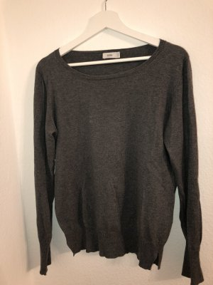 Closed Wool Sweater anthracite