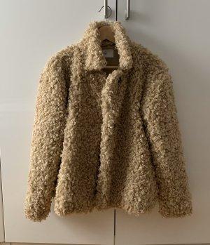 Closed Fake Fur Jacket nude-beige
