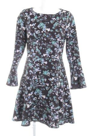 Closet A-Linien Kleid Blumenmuster Romantik-Look