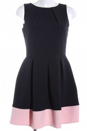 Closet A Line Dress black-pink elegant