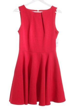 Closet Abendkleid rot Romantik-Look