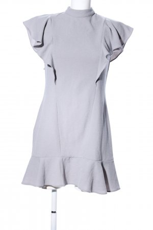 Closet Mini Dress silver-colored mixture fibre
