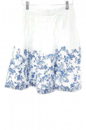 Closet Flared Skirt flower pattern