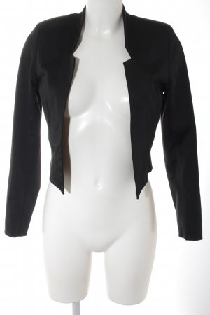 Closet Kurz-Blazer schwarz-dunkelgrün Business-Look