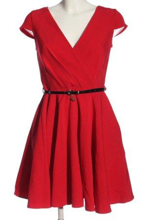 Closet Sukienka z krótkim rękawem czerwony Elegancki